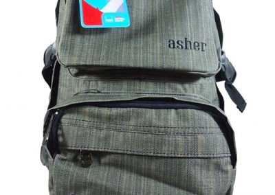 backpack coklat