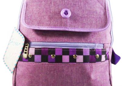 ransel anak ungu