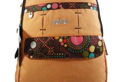 tas punggung sekolah orange