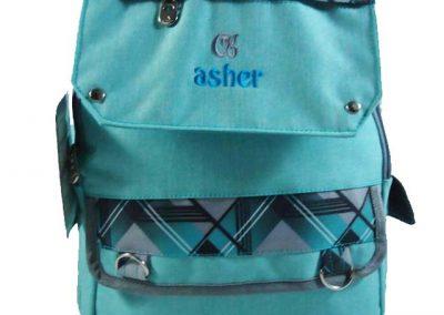 tas punggung sekolah tosca