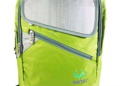 tas ransel remaja hijau