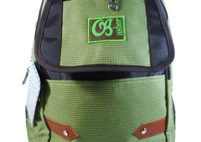 tas ransel simpel hijau