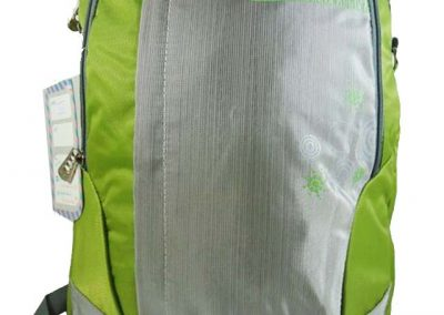 tas remaja hijau