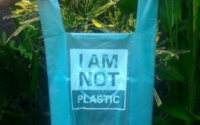 Tas plastik 2017, tas plastik yang bukan dari plastik. Kok bisa ???