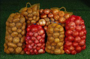 tas jaring sayur
