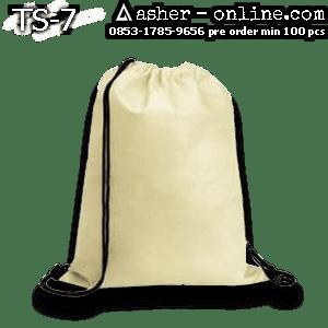 Tas Serut Kanvas Grey – Rp.28rb – TS7