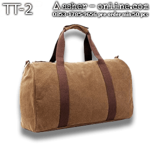 tas travel kanvas