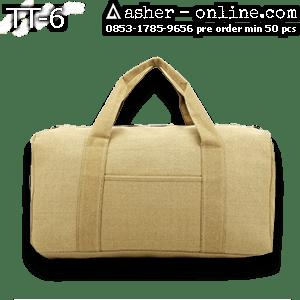 Tas Travel Kanvas Plus Saku – Rp. 90rb – TT6