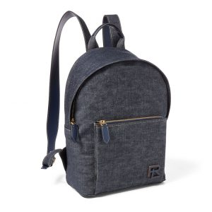 polo backpack denim