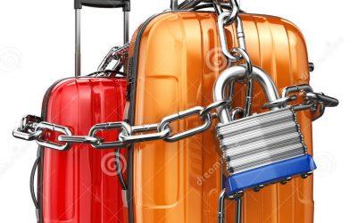 Solusi murah untuk koper anti maling,ternyata bisa tanpa keluar biaya.