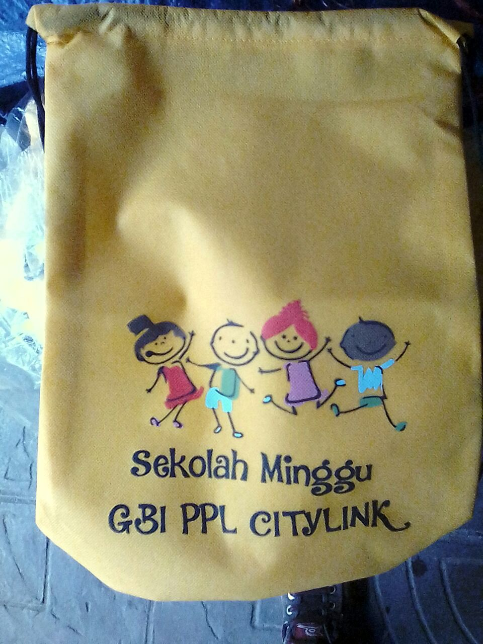 drawstring bag spunbond
