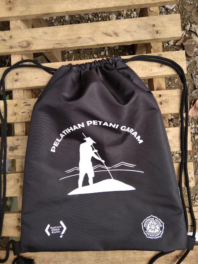 drawstring bag taslan